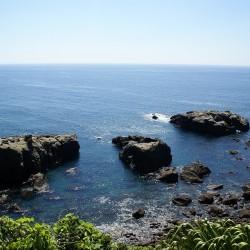 鵜戸神宮から望む海