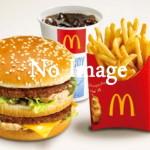 マクドナルド画像なし