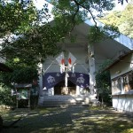 乙姫神社正面