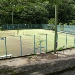 コテージ側テニスコート (3)