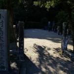 小村寿太郎候墓地 (2)