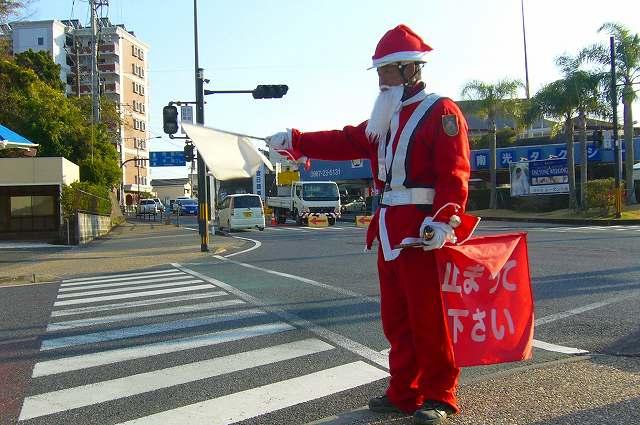 サンタクロースな警備員