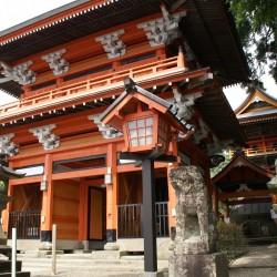 榎原神社(楼門)