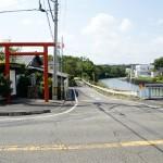 風田神社入口