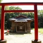 風田神社正面