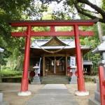 宮浦神社正面
