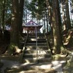 萩之嶺神社参道