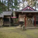 萩之嶺神社全景