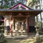 萩之嶺神社正面