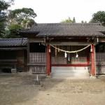 上方神社全景