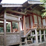 上方神社本殿