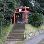 輿乃御前神社入口