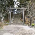 中村神社鳥居