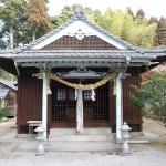 中村神社正面