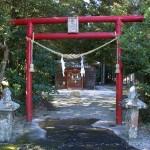 贄波神社鳥居