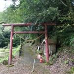 小布瀬の滝入口