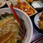 エビチリ定食 (2)