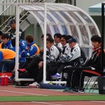 横浜FCベンチ
