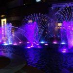 噴水ショー (2)