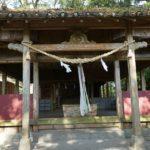 酒谷神社本殿